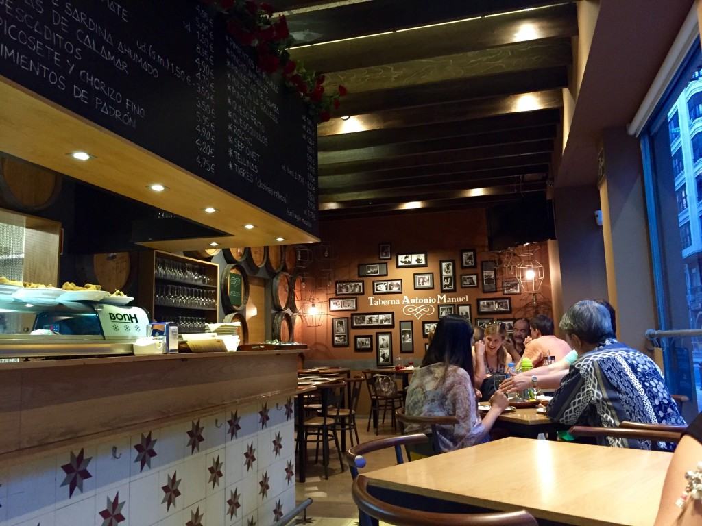 Tapas at Taberna Antonio Manuel, Valencia – review