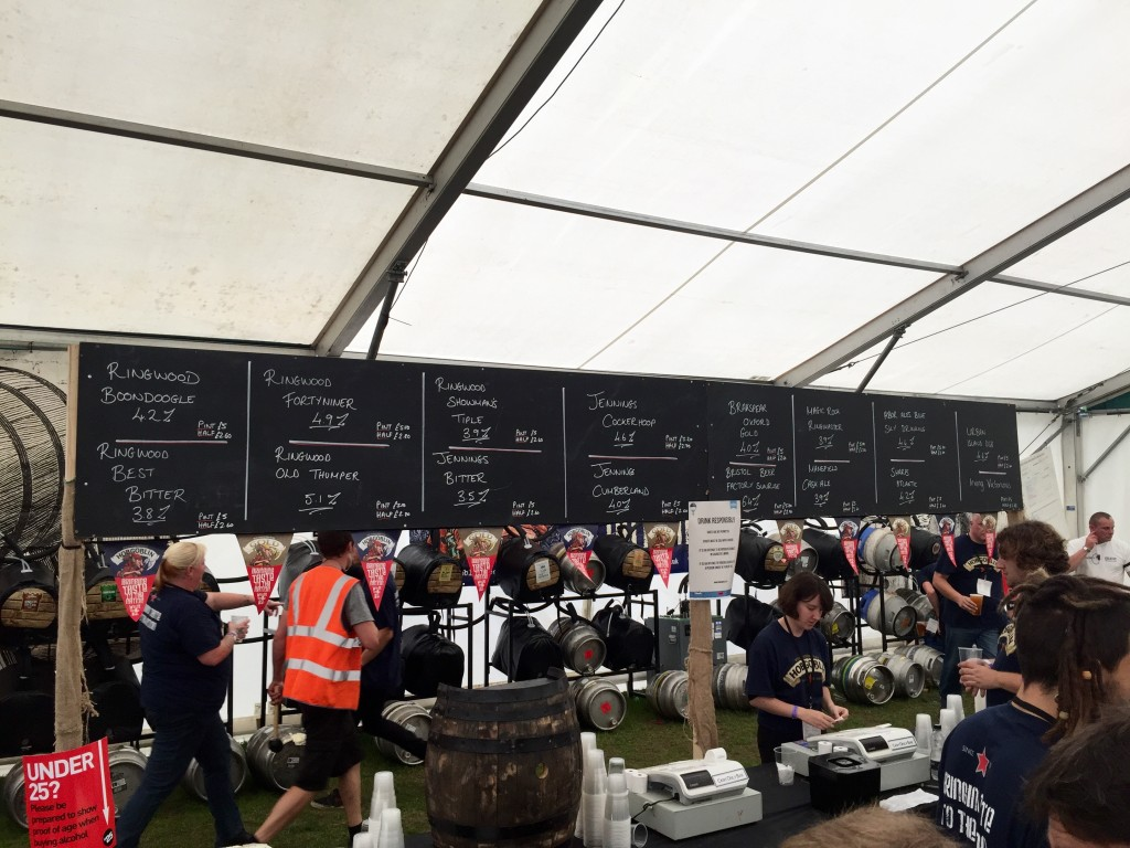 The Real Ale Village at Victorious Festival – review
