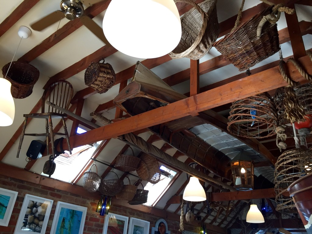 Lunch at Salty's seafood restaurant, Yarmouth, Isle of Wight – review