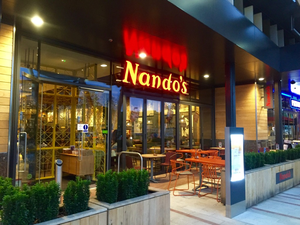 Nando's in Whiteley