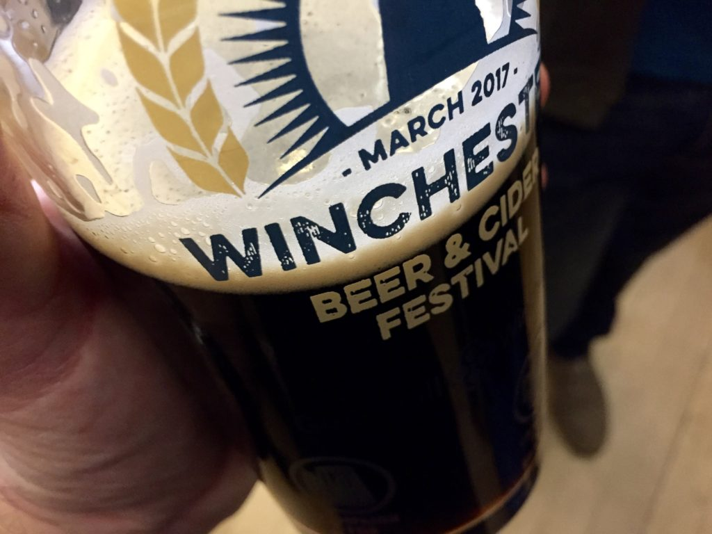A grand tour of Hampshire at the Winchester Beer Festival 2017