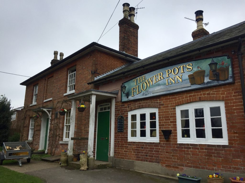 Tom Hallett & Behind the Scenes at the Flower Pots Brewery Cheriton