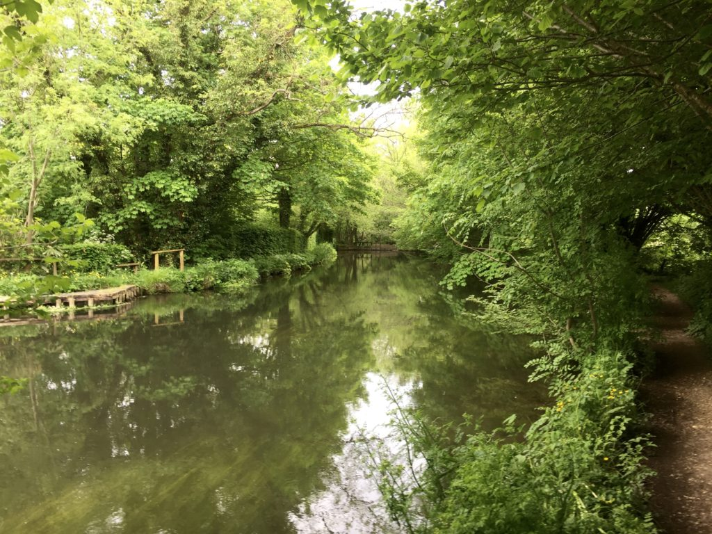 The Itchen Navigation at Brambridge