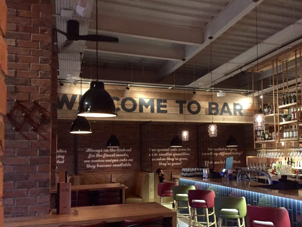 Bar and Block, Whiteley – burger review