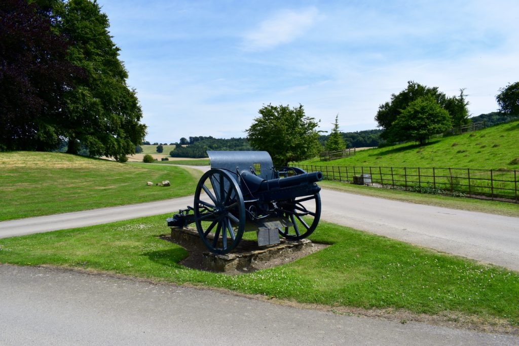 The Turkish Gun at Sherborne Castle