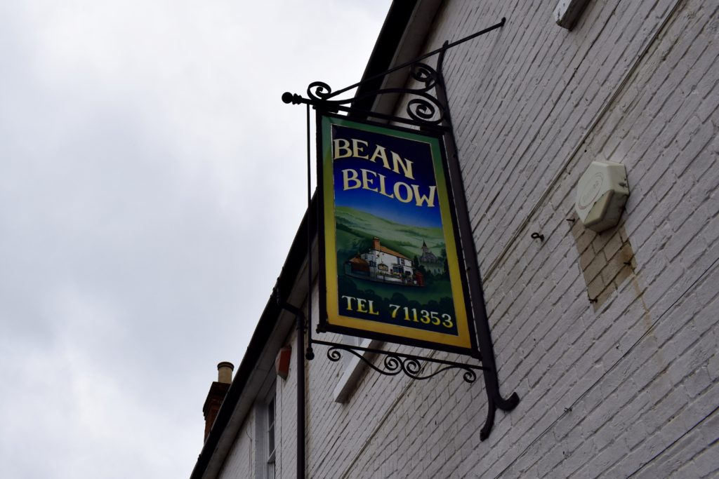 Brunch at Bean Below, Twyford, Winchester – review