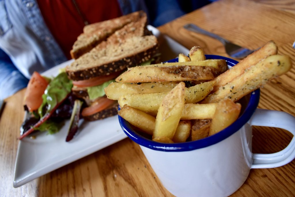 A light lunch and cake at the Corner House, Winchester – review