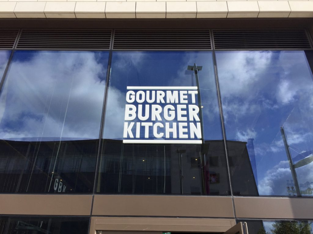 Gourmet Burger Kitchen (GBK), Southampton – burger review