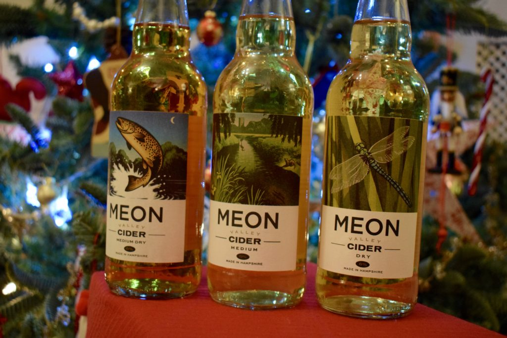 Meon Valley Ciders three bottle pack