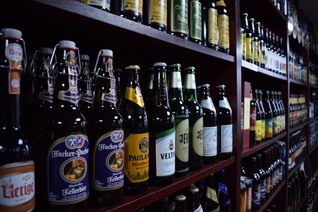 European beers at Bitter Virtue